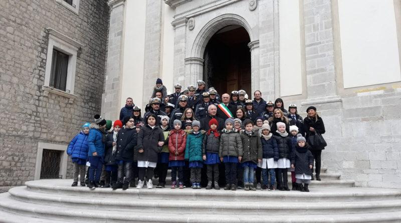 Potenza :Festa di San Sebastiano protettore di tutti i Corpi di Polizia Municipale.