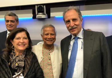 Bardi e Sole incontrano a Roma il Premio Nobel Muhammad Yunus