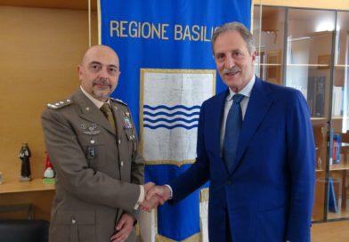 Bardi incontra generale di divisione De Cicco