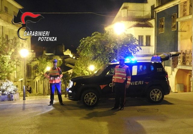 Cancellara (PZ)-Colpisce un concittadino con un bastone durante la festa di paese: arrestato dai Carabinieri.