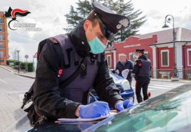 """Lauria e Genzano di Lucania (PZ):  """"Coronavirus"""" – Fase 2 – sanzionate 21 persone per violazione delle prescrizioni imposte dall'Autorità."""